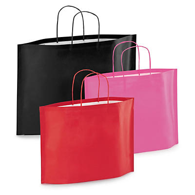 Buste shopper con soffietti sul fondo bottom bag