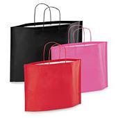 Buste shopper con soffietti sul fondo bottom bag