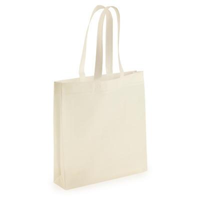 Buste shopper personalizzate in tnt con maniglie lunghe 1 lato 1 colore