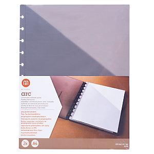 M by Staples Separadores A4 para sistema de cuaderno personalizado M