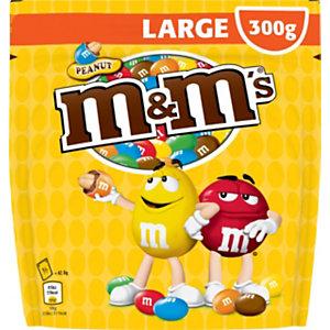 M&M'S cacahuètes chocolat au lait - Pochon de 300 g