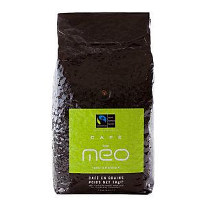 Café en grains Méo Max Havelaar, 100% arabica, 1 kg