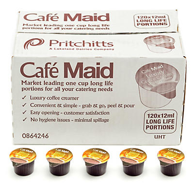 Café Maid UHT 12ml Creamer Pots – Pack of 120