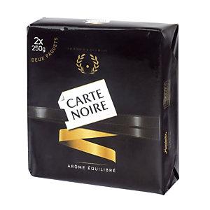 Café moulu Carte Noire Classique, 100% arabica, 2 x 250 g