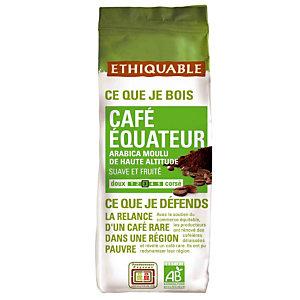 Café moulu Ethiquable Café Equateur, 100% arabica, 2 x 250 g