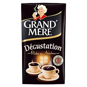 Café moulu Grand'Mère dégustation, 100% arabica, 2 x 250 g