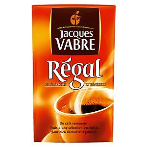 Café moulu Jacques Vabre Régal, 100% robusta, 4 x 250 g