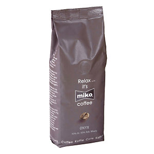 Café moulu Miko Onyx, mélange robusta/ arabica, 4 x 250 g