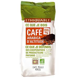 Café moulu Pérou Equitable, 1 KG