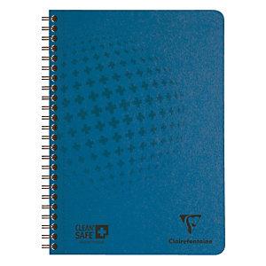 Cahier antimicrobien Clean Safe Clairefontaine format A4 – 120 pages- réglure 5 X 5