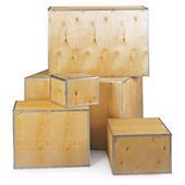 Caisse en bois contreplaqué