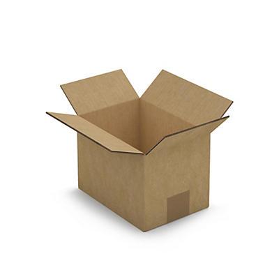 Caisse carton blanche double cannelure RAJA