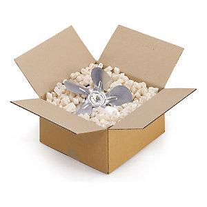 Caisse carton brune simple cannelure RAJA longueur 10 à 20 cm