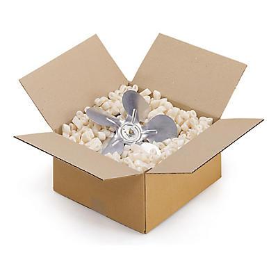 Caisse carton brune simple cannelure RAJABOX longueur 10 à 20 cm