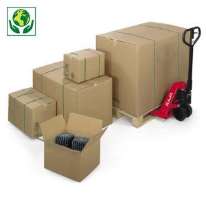Caisse carton brune triple cannelure longueur 41 à 101 cm RAJA