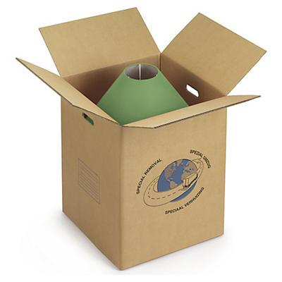 Caisse carton déménagement avec poignées simple ou double cannelure##Leichte Umzugskartons mit Tragegriffen, 2-wellig