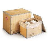 Caisse carton double/triple cannelure pour produits dangereux (logo ONU)