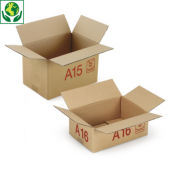 Caisse carton Galia simple cannelure