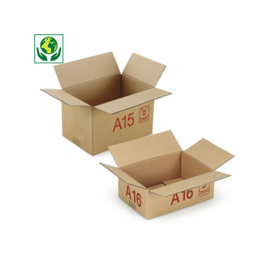 Caisse carton Galia simple cannelure
