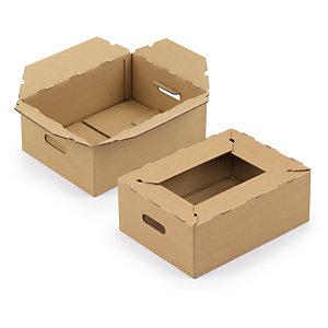Caisse carton pour livraison des produits de consommation RAJA