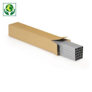 Caisse carton longue double cannelure longueur 60 à 150 cm RAJA