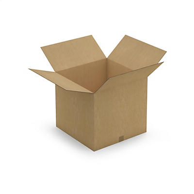 Caisse carton palettisable brune double cannelure RAJABOX