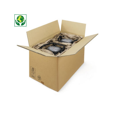 Caisse carton palettisable triple cannelure##Kartonnen dozen in driedubbelgolfkarton