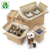Caisse carton pour produits dangereux