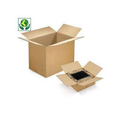 Caisse carton RAJA double cannelure longueur de 100 à 180 cm