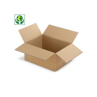 Caisse carton RAJA double cannelure longueur de 70 à 98,5 cm