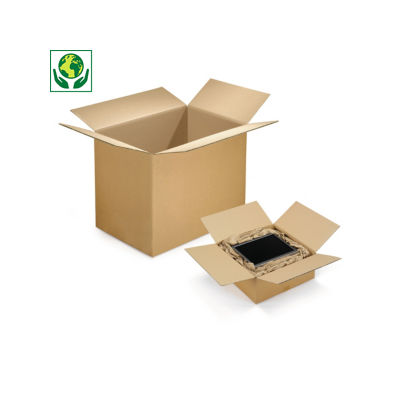 Caisse carton Rajabox double cannelure longueur de 100 à 180 cm