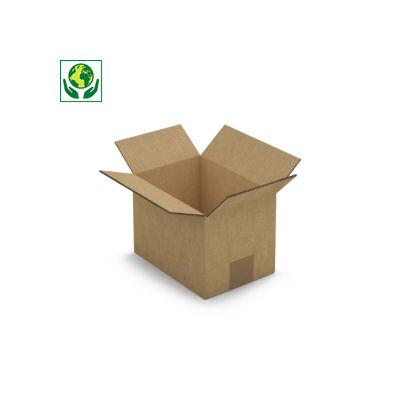 Caisse carton Rajabox double cannelure longueur de 32 à 39 cm