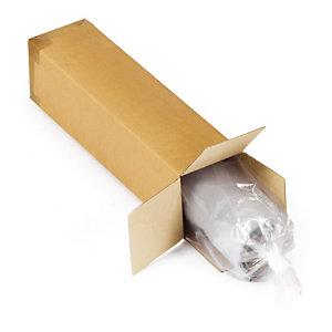 Caisse carton simple cannelure RAJA 100x10x10 cm, lot de 15