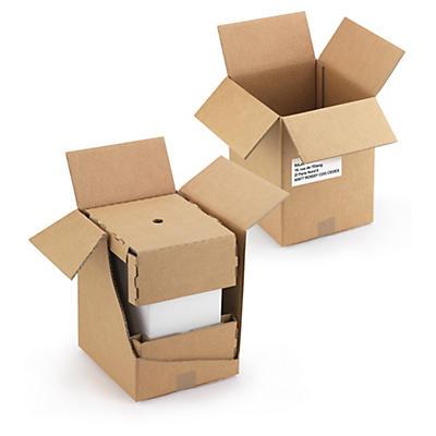 Caisse d'expédition pour carton de 6 bouteilles##Versandverpackungen für 6er-Karton Weinflaschen