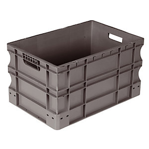 Caisse gerbable Norme Europe 600x400 mm 60 L