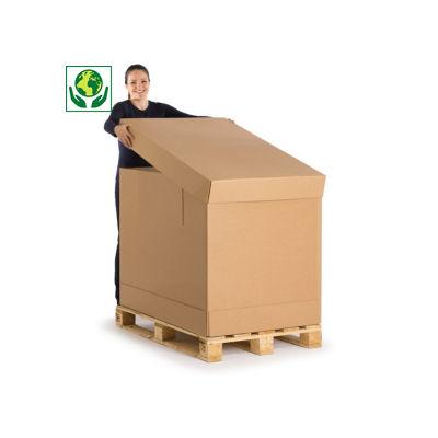 Caisse montage instantané##Container met automatische bodem