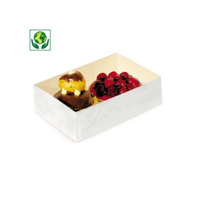 Caissette pâtissière carton sans couvercle