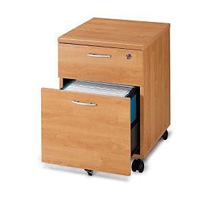 Caisson mobile Pronto 2 tiroirs Aulne