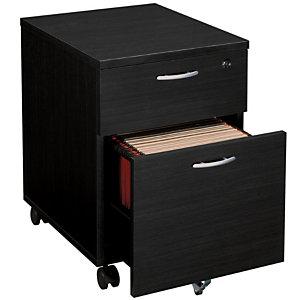 Caisson mobile Pronto 2 tiroirs Noir