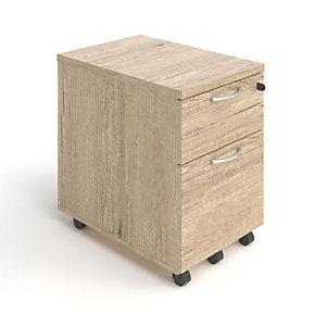 Caisson mobile Skyline - 2 tiroirs - chêne Nebraska