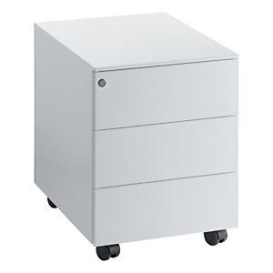 Caisson mobile Universal - 3 tiroirs - Aluminium