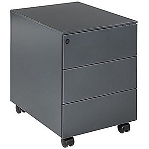 Caisson mobile Universal - 3 tiroirs - Anthracite