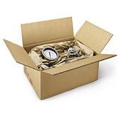 Caixa de cartão canelado duplo RAJABOX para produtos pesados