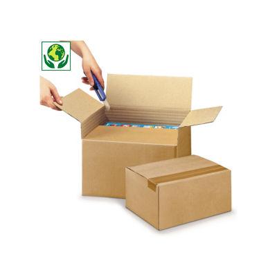 Caixa de cartão canelado fino ajustável em altura Variabox formato A4
