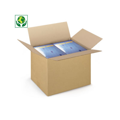 Caixa de cartão canelado fino RAJA formato A3