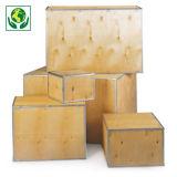 Caixa de madeira contraplacada