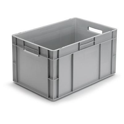 Caixa norma europeia cinzenta