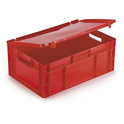 Caixa norma europeia vermelha