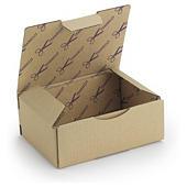 Caixa postal castanha personalizada 1 cor