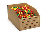 Caixa stock de cartão para armazenamento
